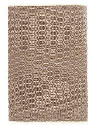 brunt tæppe