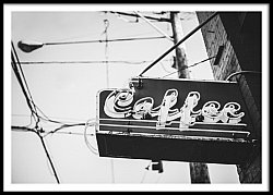 Vintage Coffee Sign